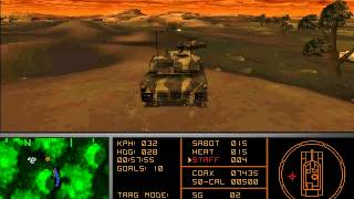 Armored Fist 2 - MS DOS gameplay