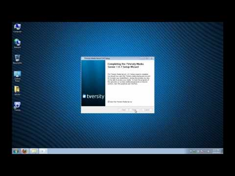 TVersity How To Windows 7 - Full Setup And Live Demo On PS3 And Xbox 360