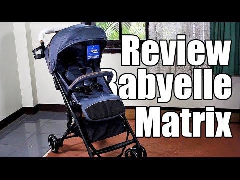 Review Stroller Babyelle Matrix | Babysasori