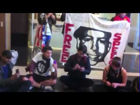 Wikileaks Australian Citizens Alliance's 3rd sit-in at Melbourne US Consulate