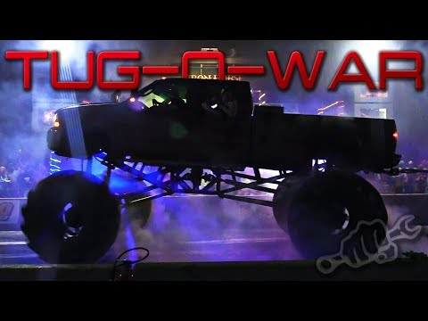 Trucks Gone Wild Tug of War Party at Iron Horse Mud Ranch