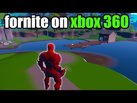 I Played Fortnite Going On XBOX 360...