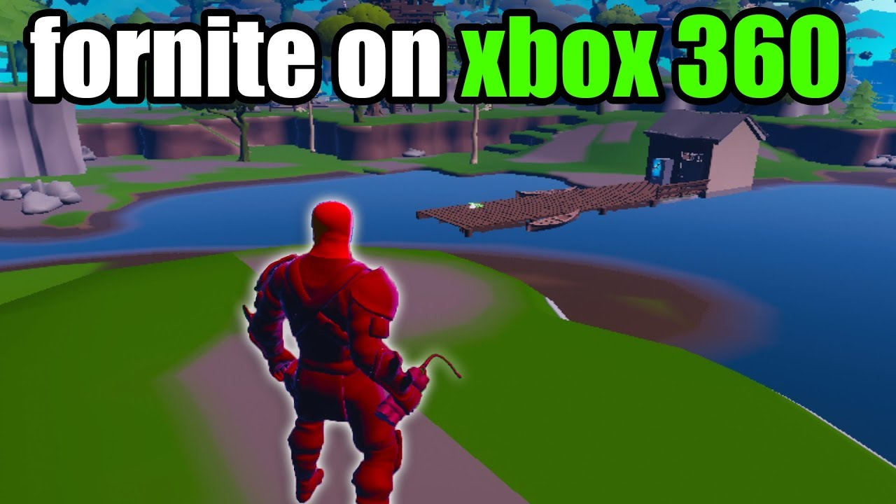 I Played Fortnite Going on XBOX 360... - YouTube