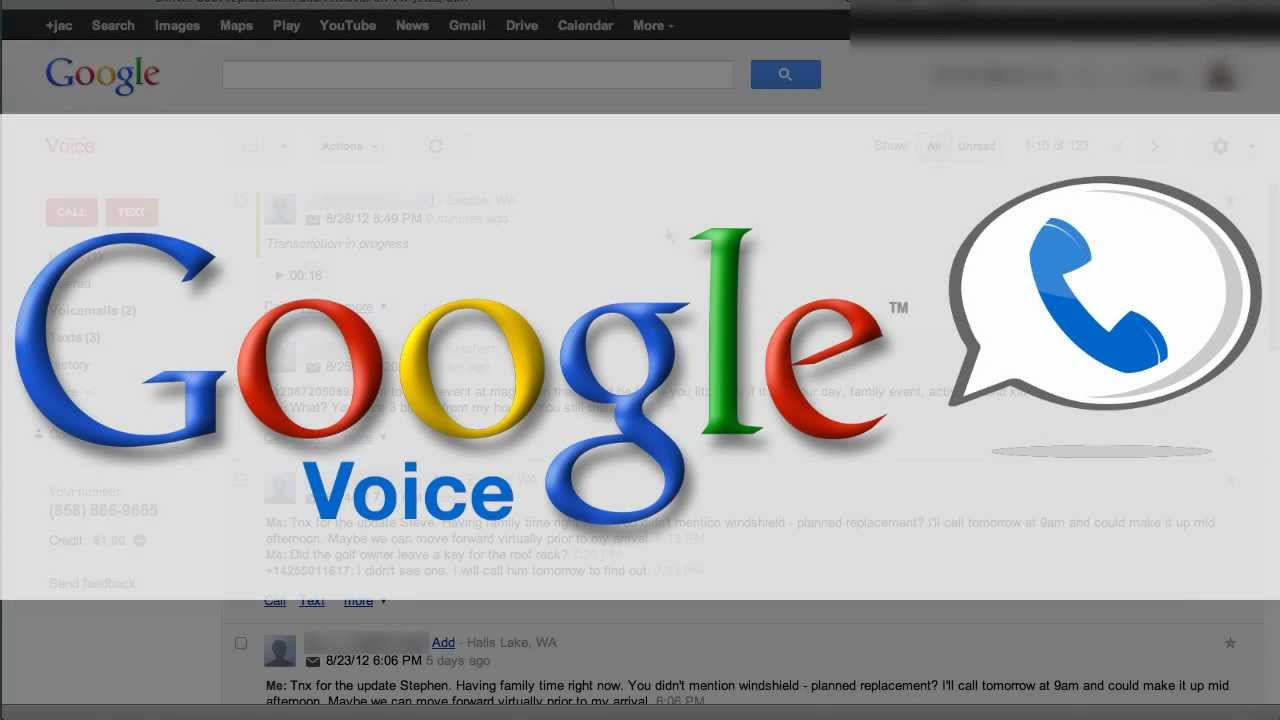 How To Embed Google Voice Voicemail Into A Website Youtube
