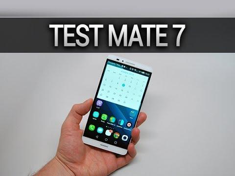 Test du Huawei Ascend Mate 7 - par Test-Mobile.fr
