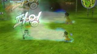 Dragon Ball Online 'Human' Tribe's Main skill Video