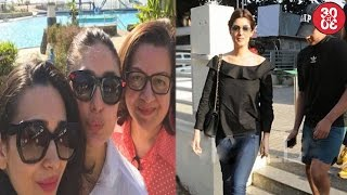 kareena enjoys a weekend lunch with her family   twinkle son aarav catch at a movie screening