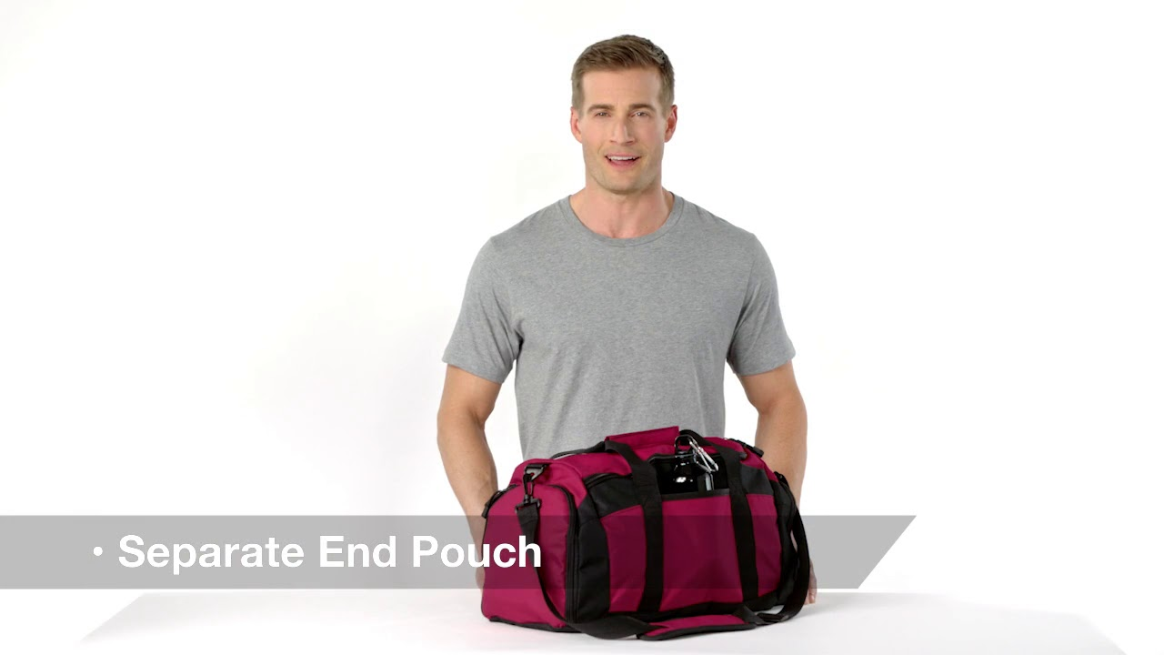 d40b063c90e9 Port Authority BG970 Improved Gym Bag