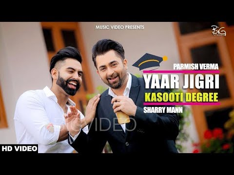 Kasooti Degree Yaar Jigri Full Punjabi Video Song 1080p HD