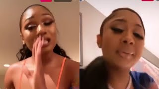 Megan Thee Stallion Check Ari Over Moneybagg Yo and Ari response