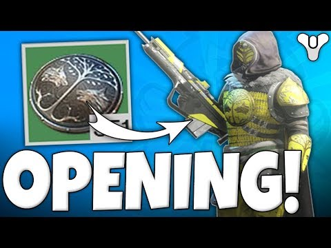 Destiny 2 - Iron Banner Engrams LOOT Opening!! BEST LUCK EVER!!