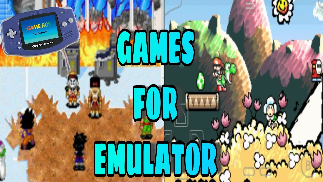 gameboy advance games for emulator