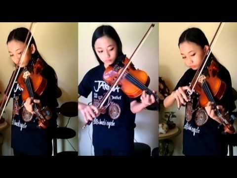 American Authors The Best Day Of My Life Violin Cover_ Aciw Alexa
