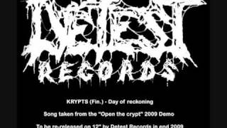 KRYPTS (Fin.) - Day of reckoning