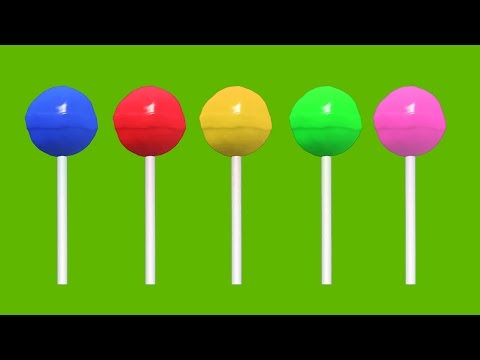 Thumbnail: Mega Sweets Finger Family Pack - Lollipops, Candies, Ice Cream, Animals 3D