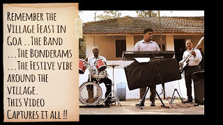 Village Feast Konkani Musical Band in Goa | Latest Konkani Songs Online on www.goenchobalcao.com(The Feast band playing at Bom Jesus Church Nachinola Bardez Goa. This video brings back the nostalgic feeling of attending a feast in the gona village., 2017-02-15T21:31:19.000Z)