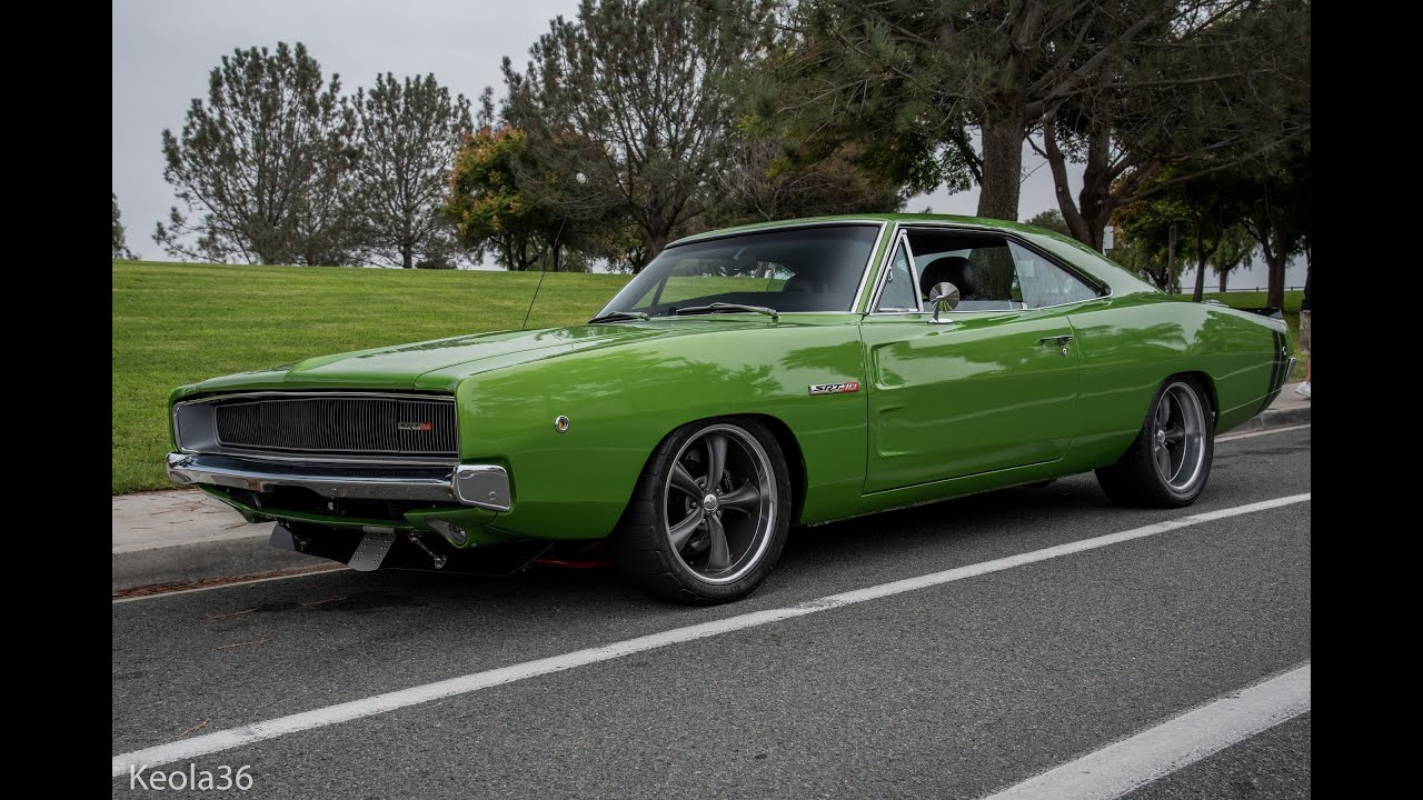 Charger Vs Challenger >> Viper Swapped 1968 Dodge Charger : Short Film - YouTube