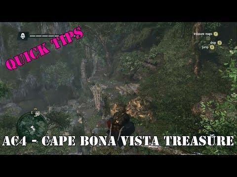 Cape Bona Vista Treasure - Assassin's Creed IV - Quick Tips