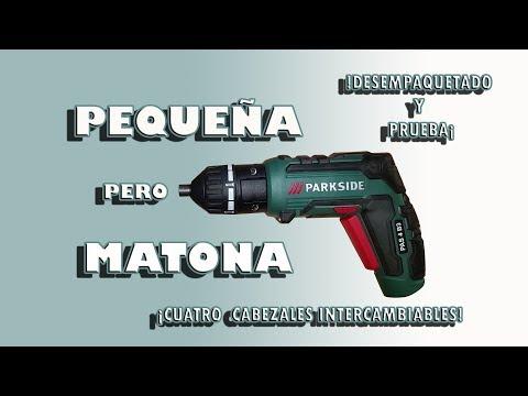 Atornilladora Recargable PAS 4 B3 Parkside, DESEMPAQUETADO, PRUEBA Y OPINIÓN