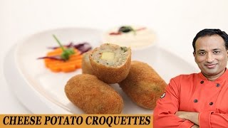 Potato And Cheese Croquettes