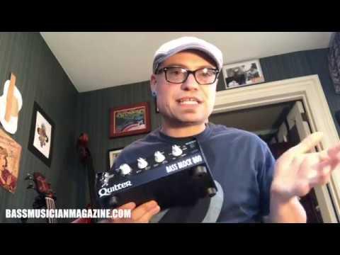 Bass Musician Magazine Reviews - Quilter 800 Bass Block Analog Amp