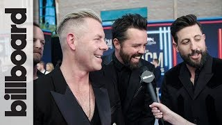 Old Dominion React to Winning Group of The Year, Weigh in on Lil Nas X & More | ACM Awards