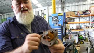 How to fit a new seal into an early TEA20 tractor water pump