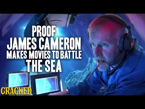 Proof James Cameron Makes Movies To Battle The Sea (Titantic, The Abyss)