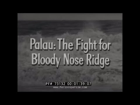 "CRUSADE IN THE PACIFIC TV SHOW Episode 17  ""PALAU: THE FIGHT FOR BLOODY NOSE RIDGE"" 32092"