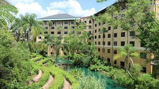 Universal Orlando Royal Pacific Resort Tour | Detailed Hotel Grounds & Standard Queen Room Tour