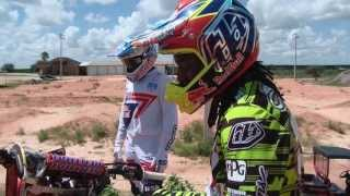 James and Malcolm Stewart training in Florida