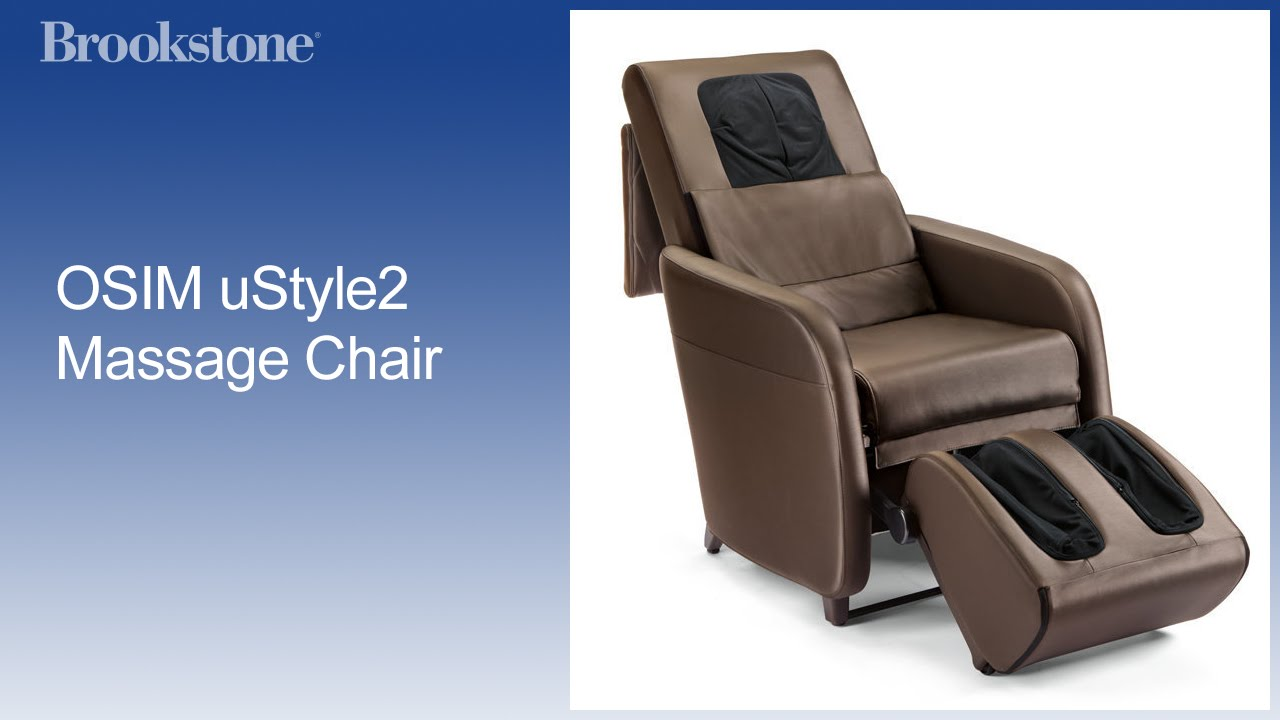 OSIM uStyle2 Massage Chair YouTube