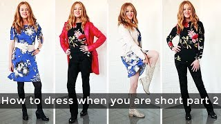 How to dress when you are short for women over 40 part 2 - daywear - over 40 style