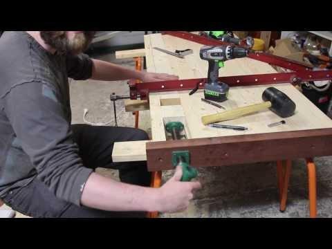 006 - JordsWoodShop Roubo bench modification - Tail vise
