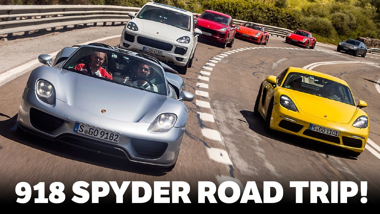 Driving A Porsche 918 Spyder On An Epic 3500 Mile Road Trip