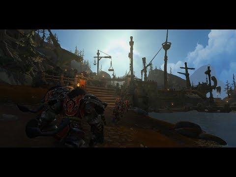 WoW BFA - Horde War Campaign Part #1 - Unlocking Island Expeditions