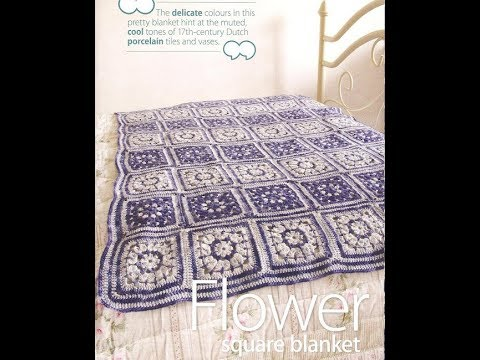 Free English Crochet patterns| for |crochet baby blanket| 2063 - YouTube