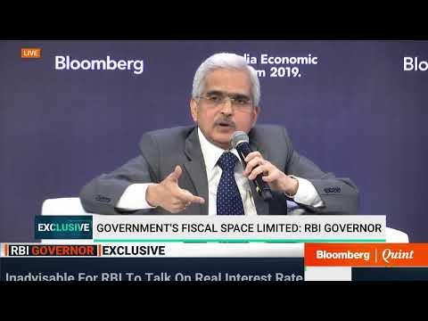 RBI Governor Speaks At Bloomberg India Economic Forum