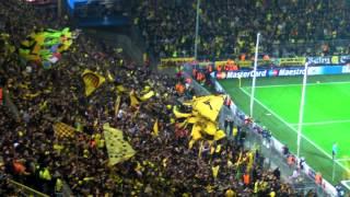 1:0 Robert Lewandowski: Borussia Dortmund - Real Madrid BVB Champions League 2012 Stimmung