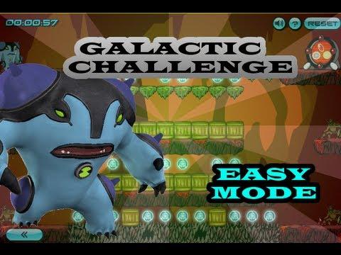 Ben10 Galactic Challenge Ultimate Cannonbolt Easy Mode