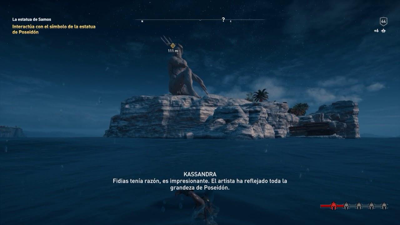 La Estatua De Samos Assassin S Creed Odyssey Youtube