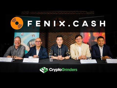 FENIX.CASH ICO: Live AMA with Founders Team and Advisor