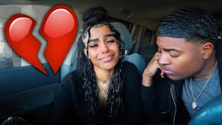 BREAK UP PRANK ON GIRLFRIEND (SHE CRIED)