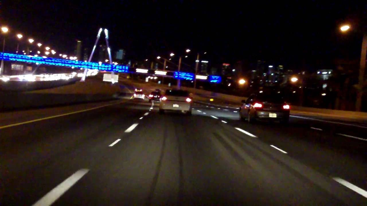 Dolphin Expressway FL 836 from FL 826 to I95 eastbound