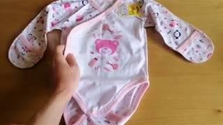 Пробный заказ трикотажной одежды для самых маленьких / ТМ