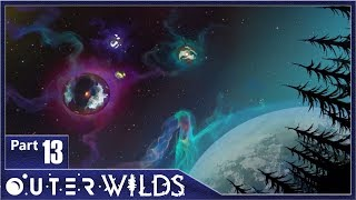 Outer Wilds, Part 13 / Quantum Moon Sixth Location and The Vessel Warp Core. Best Solanum Ending.