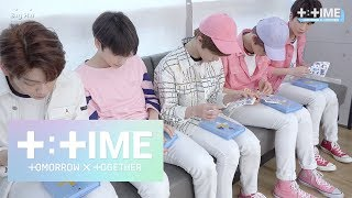 [T:TIME] If I were you : How to decorate album sleeve - TXT (투모로우바이투게더)