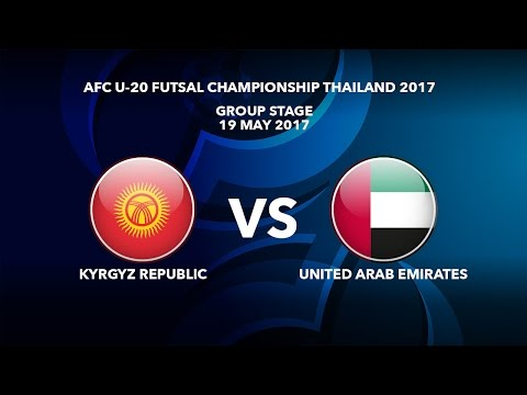 M29 KYRGYZ REPUBLIC vs UNITED ARAB EMIRATES - AFC U-20 Futsa