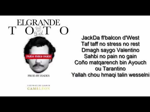 Lyrics of Pablo - TOTO HD '' clean version ''
