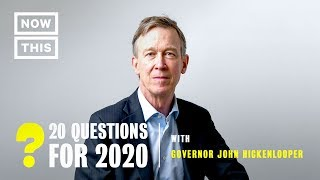 20 Questions for 2020: John Hickenlooper | NowThis